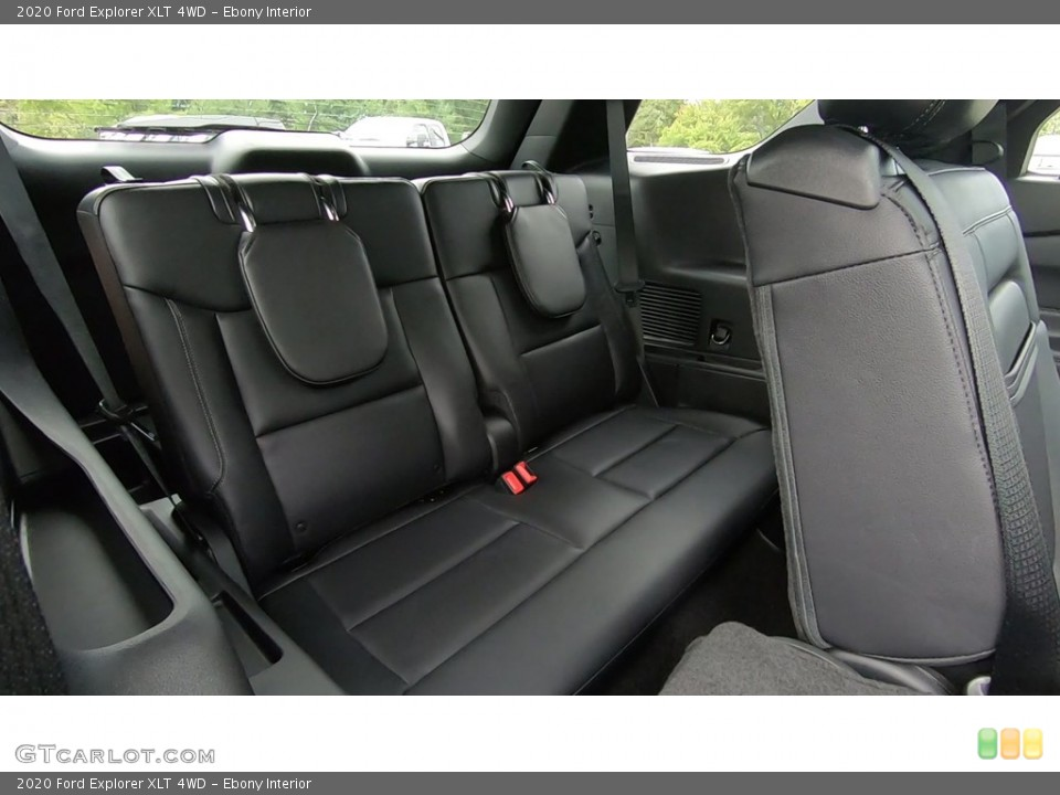 Ebony Interior Rear Seat for the 2020 Ford Explorer XLT 4WD #135205280