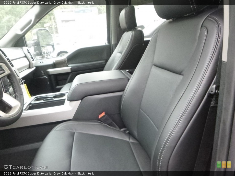 Black 2019 Ford F350 Super Duty Interiors