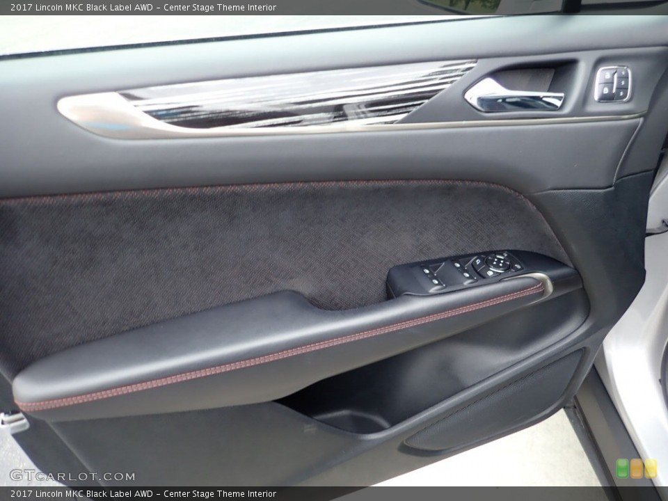 Center Stage Theme Interior Door Panel for the 2017 Lincoln MKC Black Label AWD #135782895