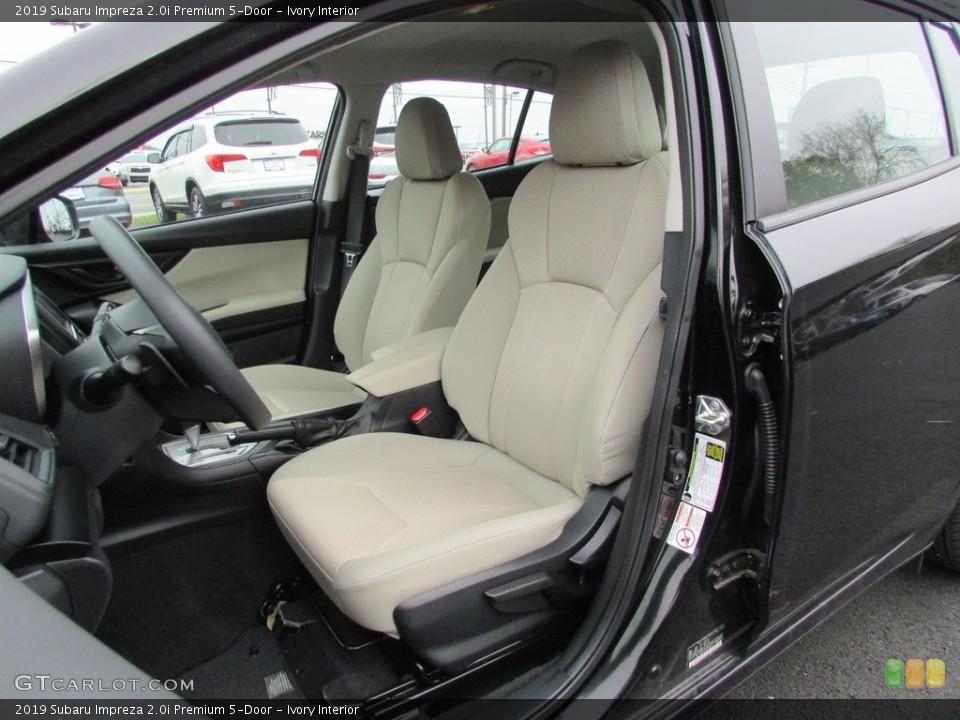 Ivory 2019 Subaru Impreza Interiors