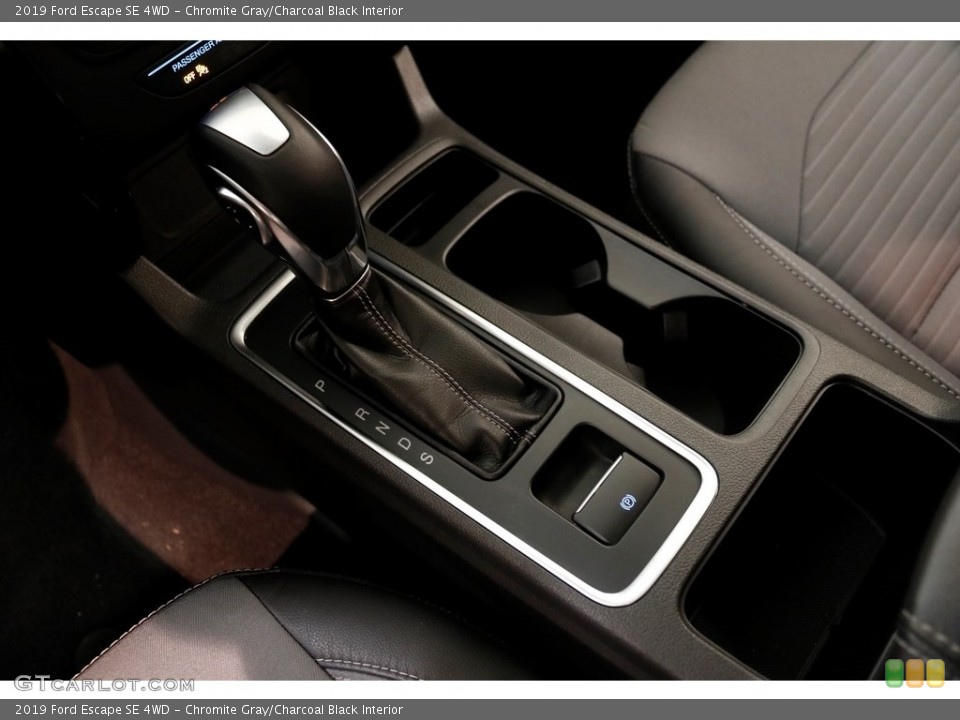 Chromite Gray/Charcoal Black Interior Transmission for the 2019 Ford Escape SE 4WD #136276682
