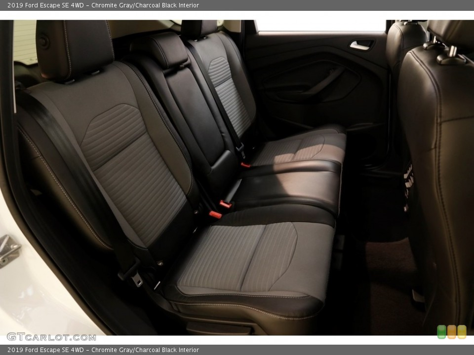 Chromite Gray/Charcoal Black Interior Rear Seat for the 2019 Ford Escape SE 4WD #136276727