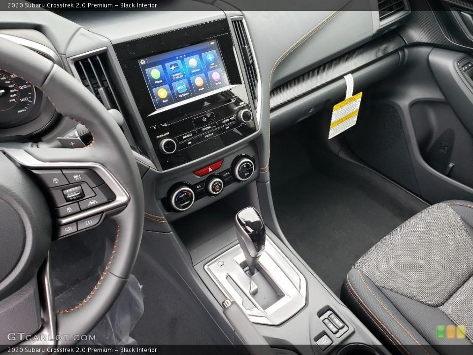 Black Interior Controls for the 2020 Subaru Crosstrek 2.0 Premium #136391097