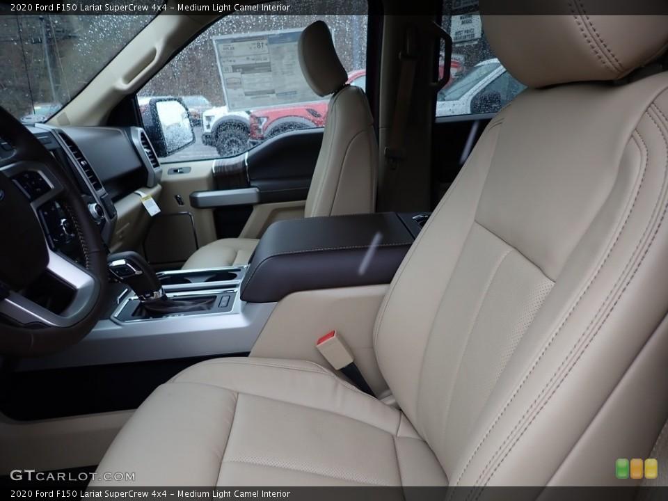 Medium Light Camel 2020 Ford F150 Interiors
