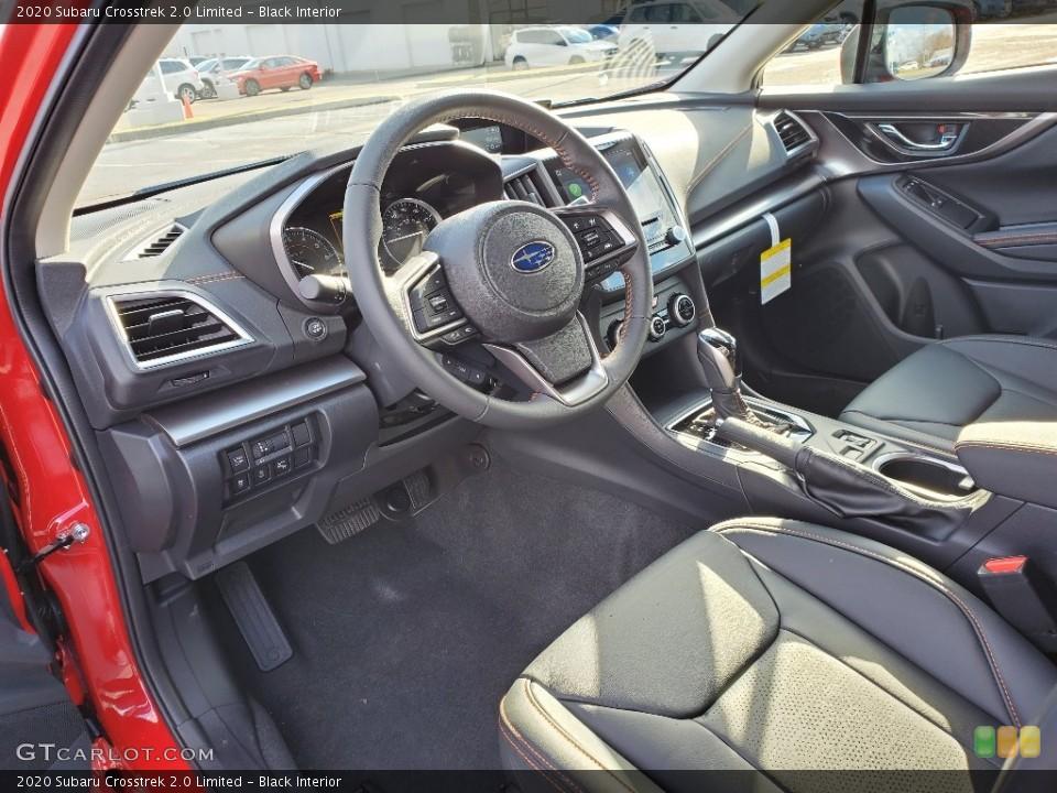 Black Interior Front Seat for the 2020 Subaru Crosstrek 2.0 Limited #136730656