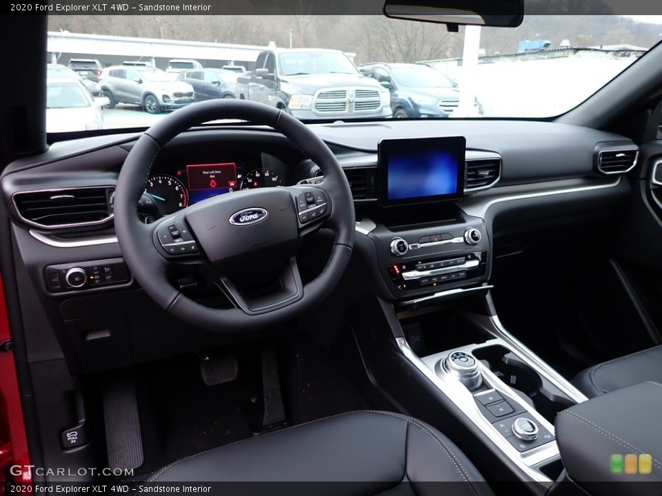 Sandstone Interior Front Seat for the 2020 Ford Explorer XLT 4WD #137041449