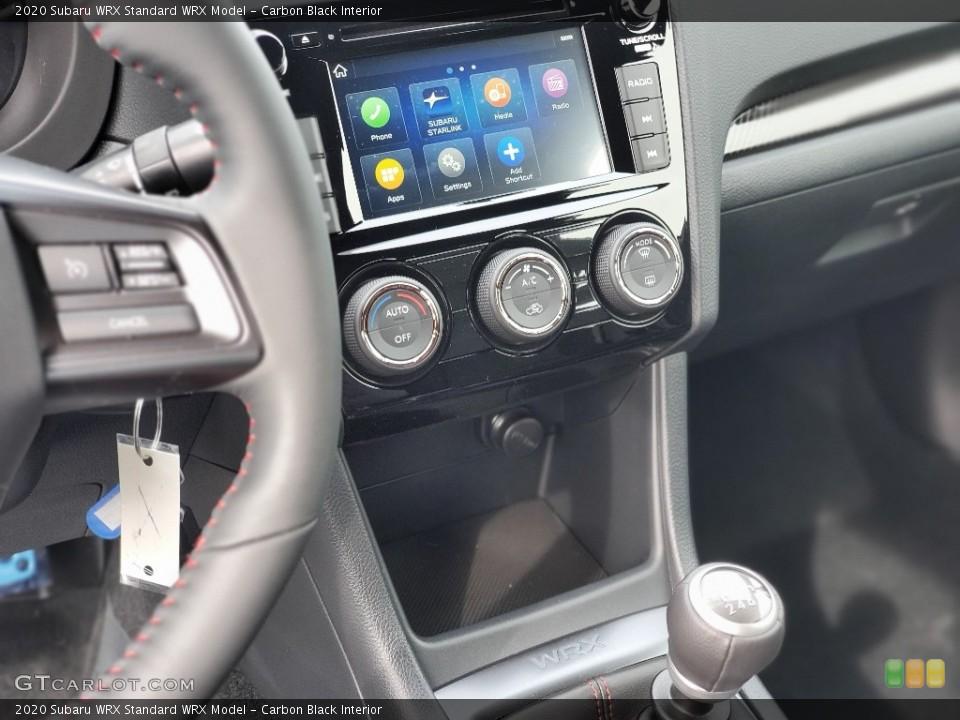 Carbon Black Interior Controls for the 2020 Subaru WRX  #137194911