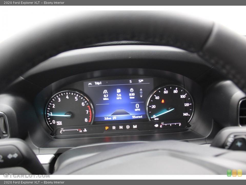 Ebony Interior Gauges for the 2020 Ford Explorer XLT #137302446