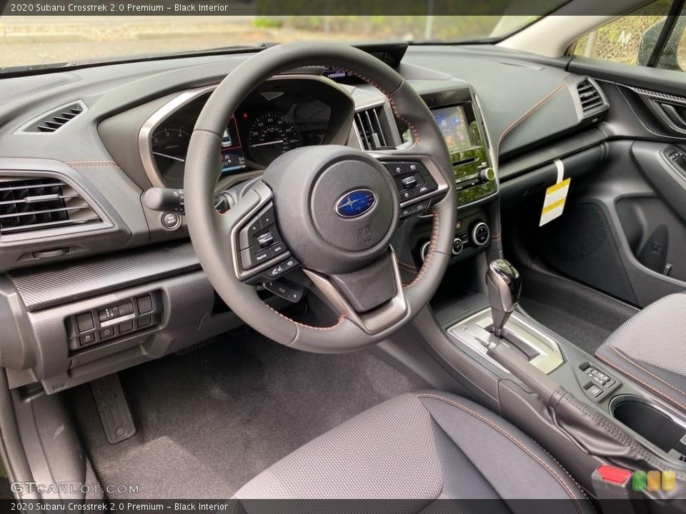 Black Interior Photo for the 2020 Subaru Crosstrek 2.0 Premium #138195300