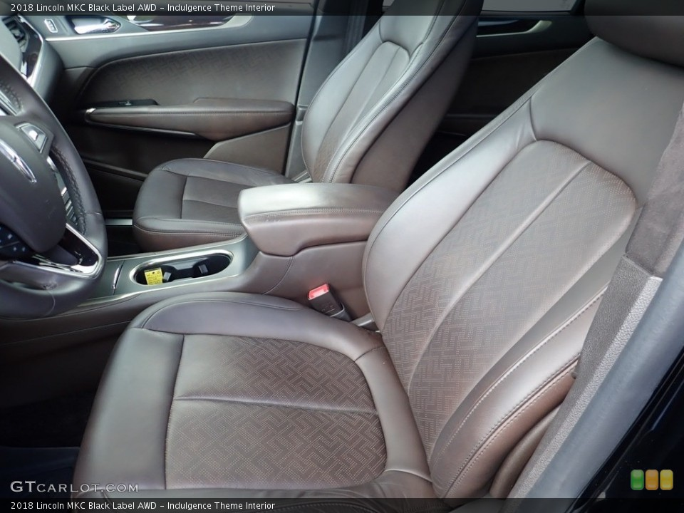 Indulgence Theme Interior Front Seat for the 2018 Lincoln MKC Black Label AWD #138767909