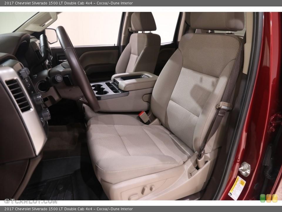 Cocoa/Dune 2017 Chevrolet Silverado 1500 Interiors