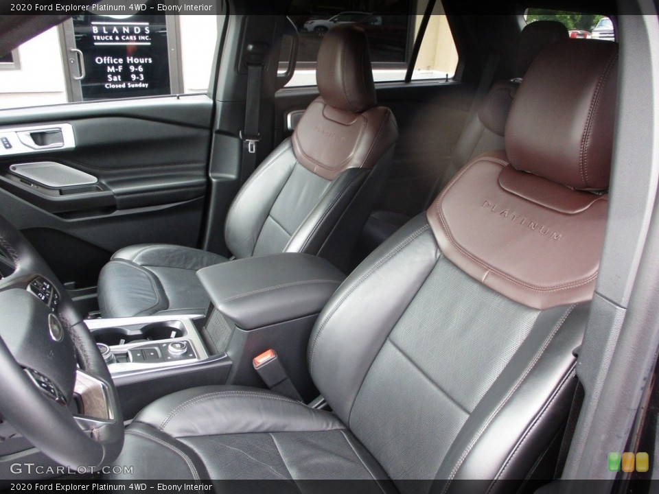 Ebony 2020 Ford Explorer Interiors