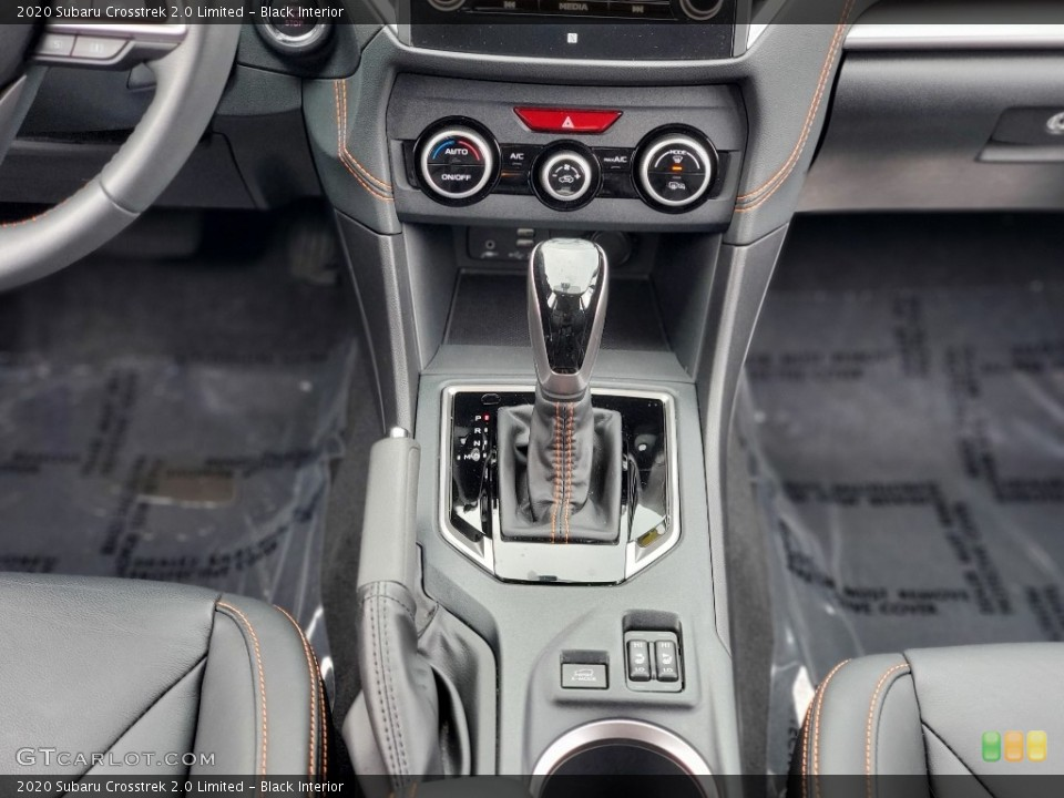 Black Interior Transmission for the 2020 Subaru Crosstrek 2.0 Limited #139853717