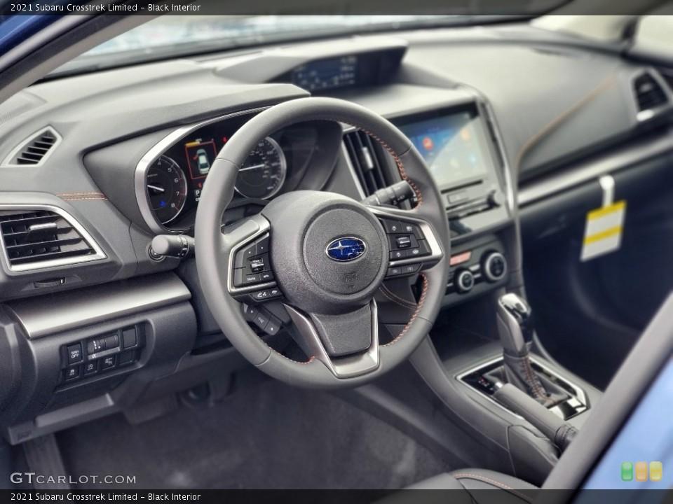 Black Interior Steering Wheel for the 2021 Subaru Crosstrek Limited #139932118