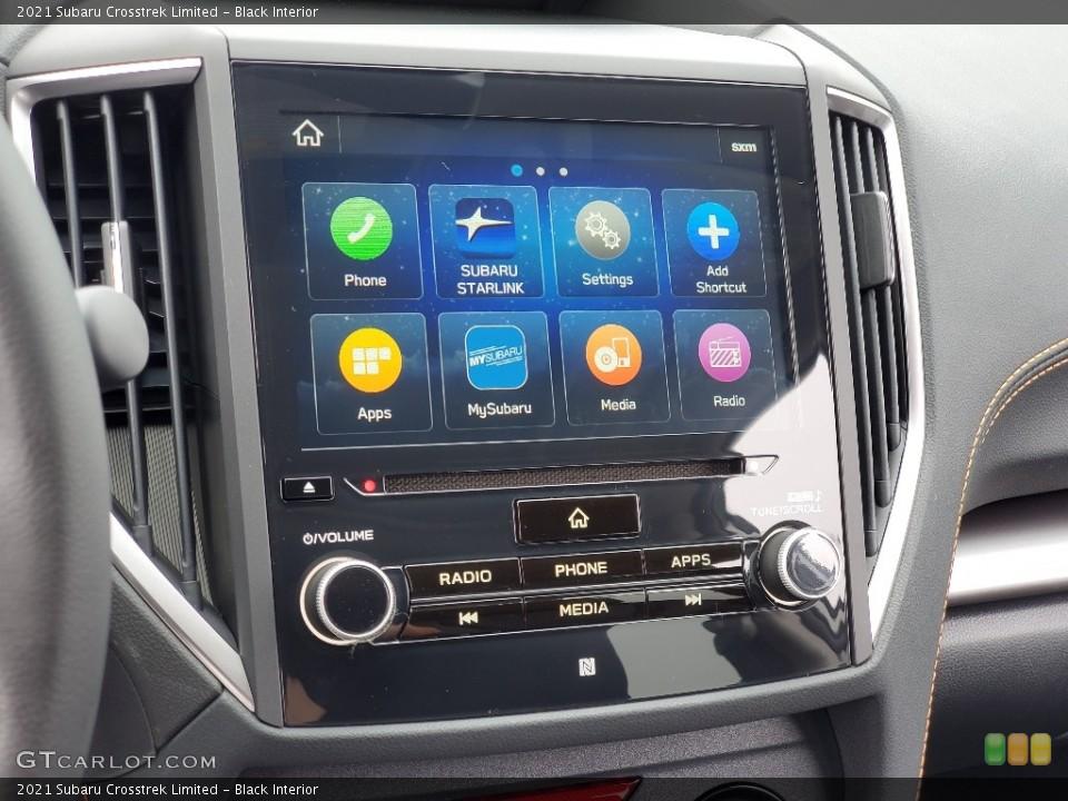 Black Interior Controls for the 2021 Subaru Crosstrek Limited #139951692