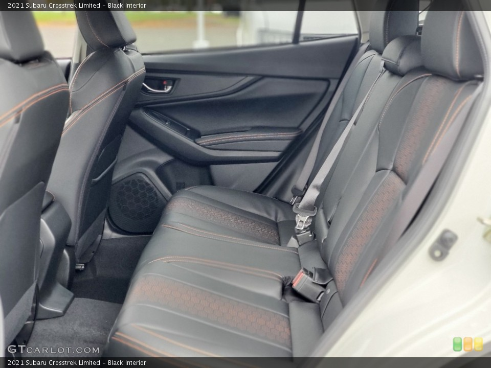 Black Interior Rear Seat for the 2021 Subaru Crosstrek Limited #139952631