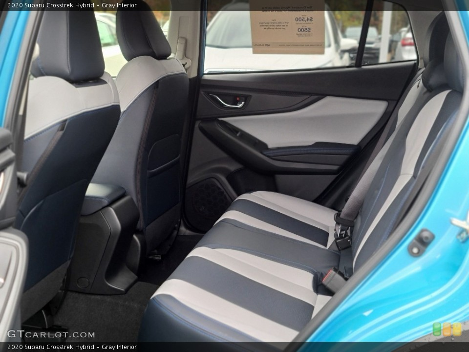 Gray 2020 Subaru Crosstrek Interiors