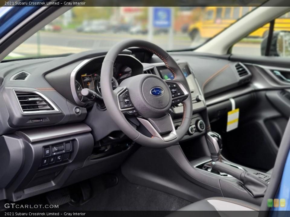Gray Interior Photo for the 2021 Subaru Crosstrek Limited #140051401