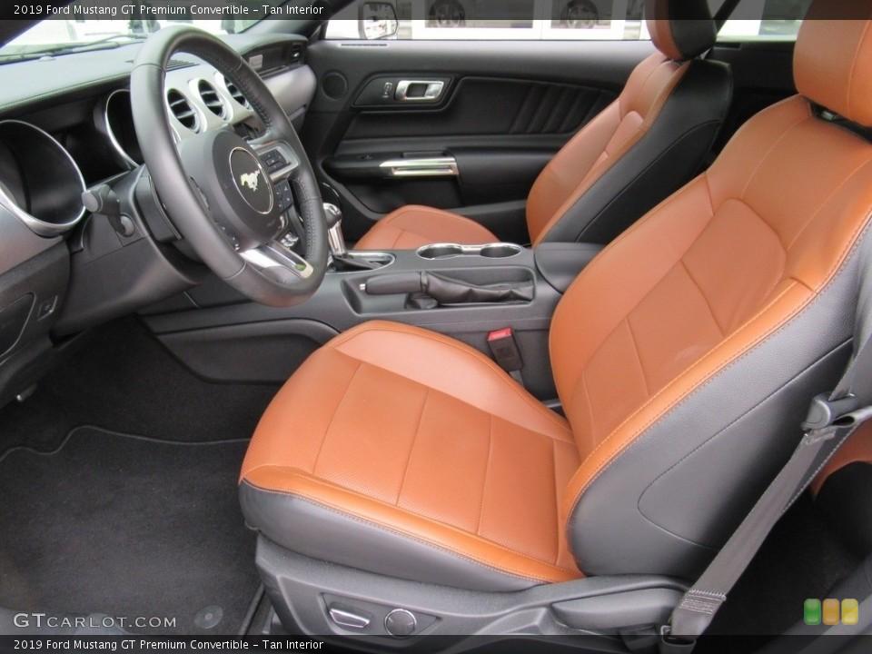 Tan 2019 Ford Mustang Interiors