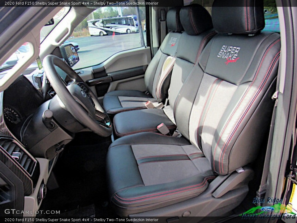 Shelby Two-Tone Suedezkin 2020 Ford F150 Interiors