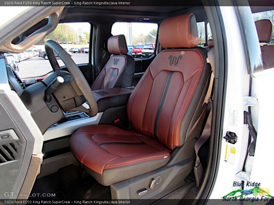 King Ranch Kingsville/Java 2020 Ford F150 Interiors