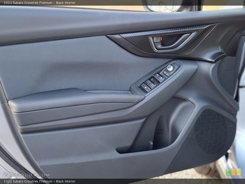 Black Interior Door Panel for the 2021 Subaru Crosstrek Premium #140479243