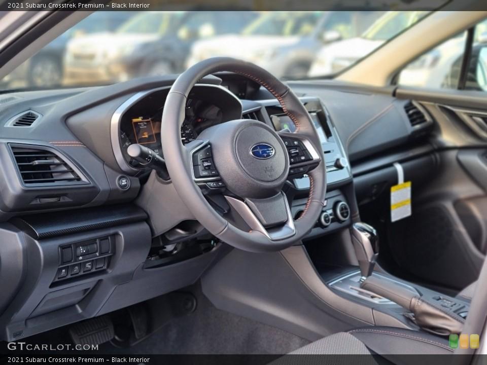 Black Interior Dashboard for the 2021 Subaru Crosstrek Premium #140479276