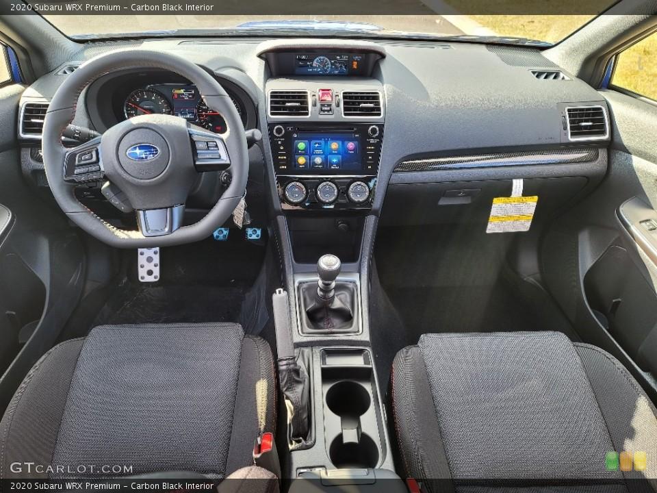 Carbon Black Interior Photo for the 2020 Subaru WRX Premium #140846446