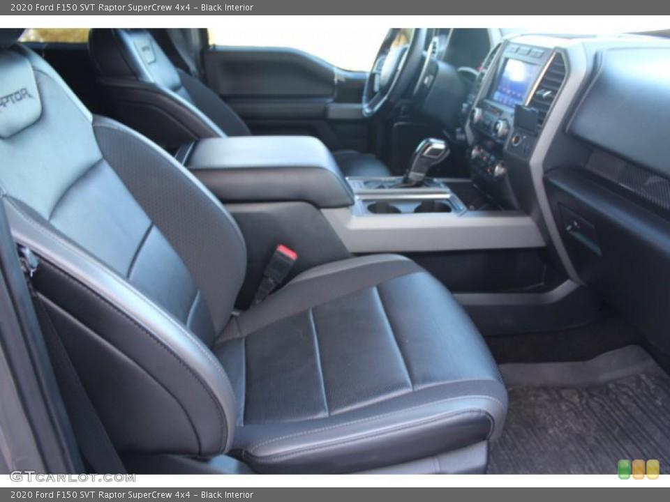 Black 2020 Ford F150 Interiors