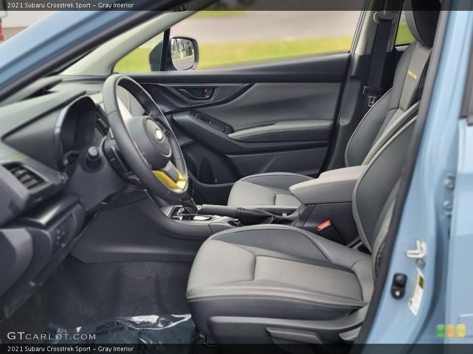 Gray 2021 Subaru Crosstrek Interiors