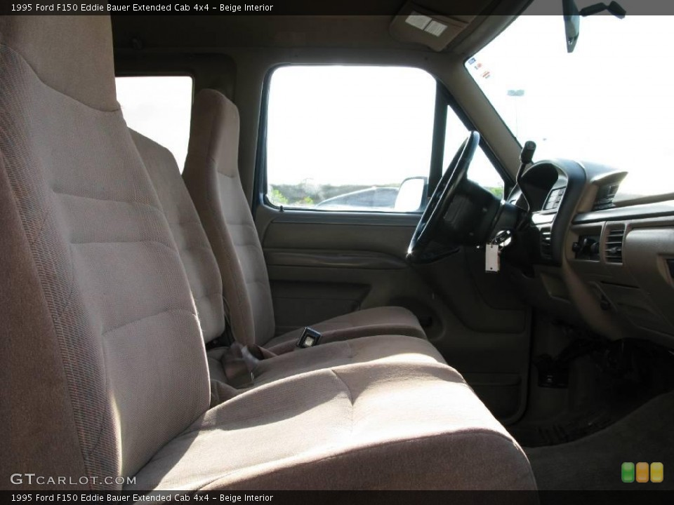 Beige 1995 Ford F150 Interiors