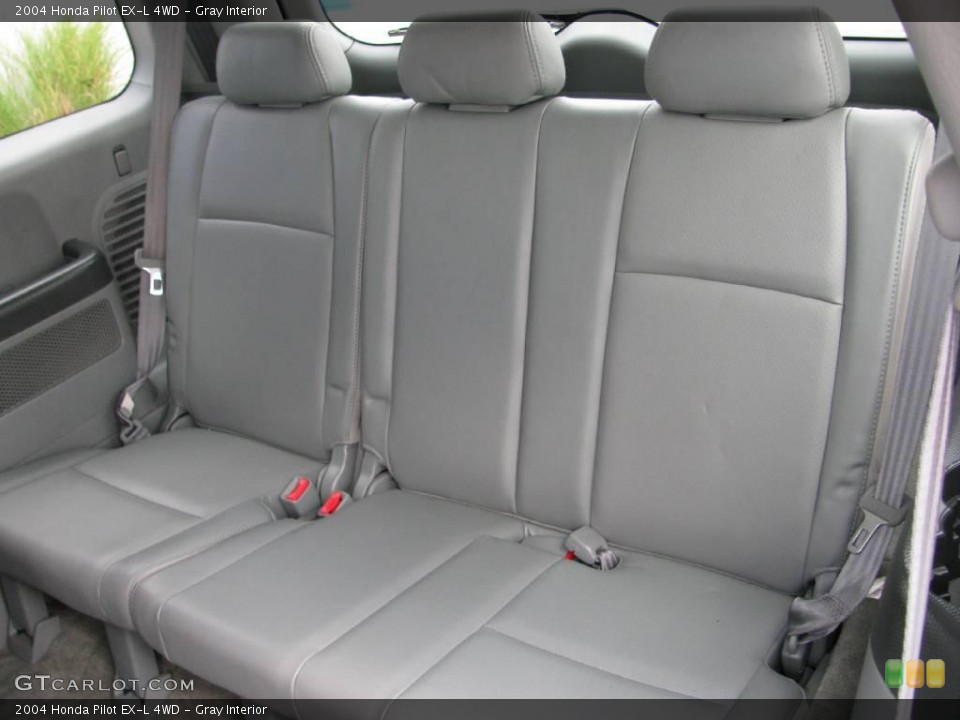 Gray Interior Rear Seat for the 2004 Honda Pilot EX-L 4WD #17761423