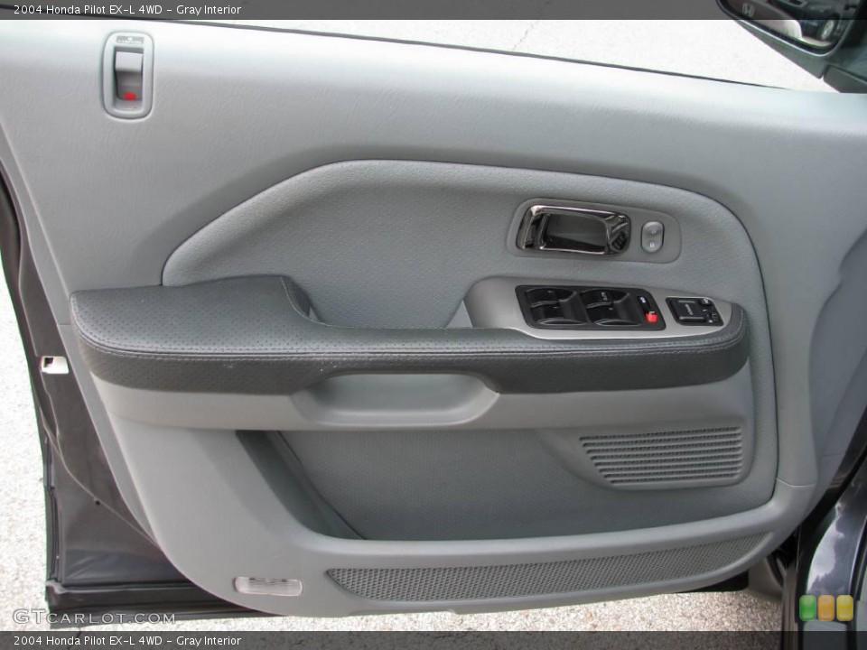 Gray Interior Door Panel for the 2004 Honda Pilot EX-L 4WD #17761455