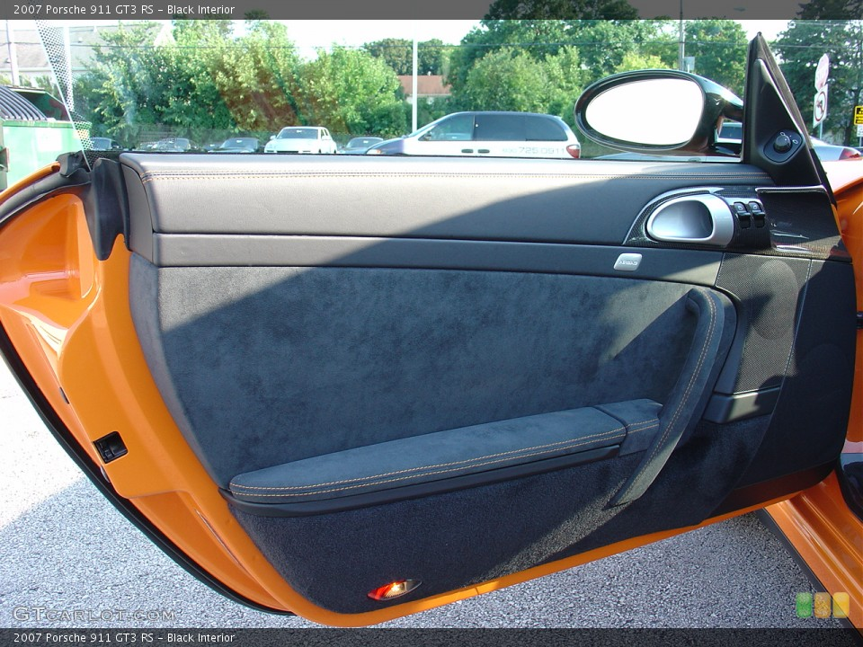 Black Interior Door Panel for the 2007 Porsche 911 GT3 RS #22275