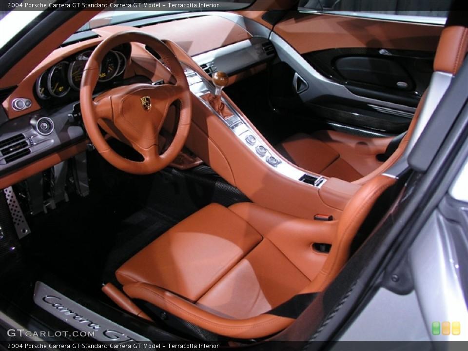 Porsche Carrera gt Interior 2004 Porsche Carrera gt