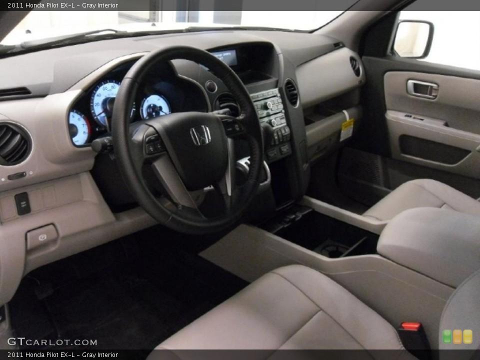 Gray Interior Photo for the 2011 Honda Pilot EX-L #37534284