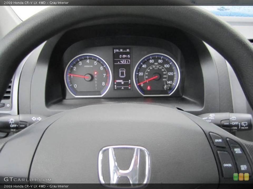Gray Interior Gauges for the 2009 Honda CR-V LX 4WD #37712209