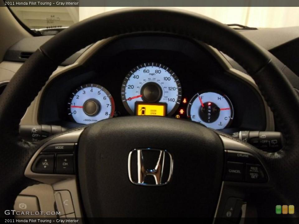 Gray Interior Gauges for the 2011 Honda Pilot Touring #37804776