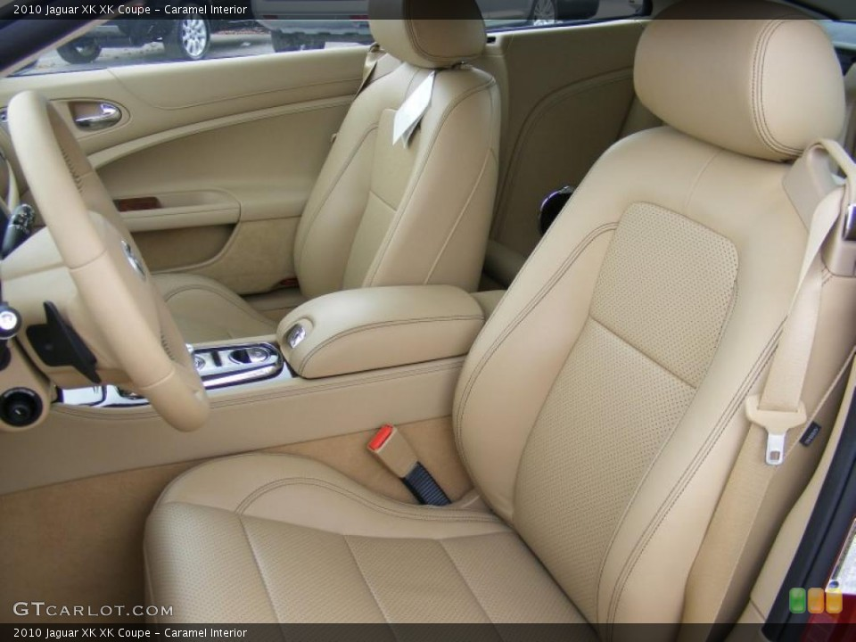 Caramel Interior Photo for the 2010 Jaguar XK XK Coupe #37915502