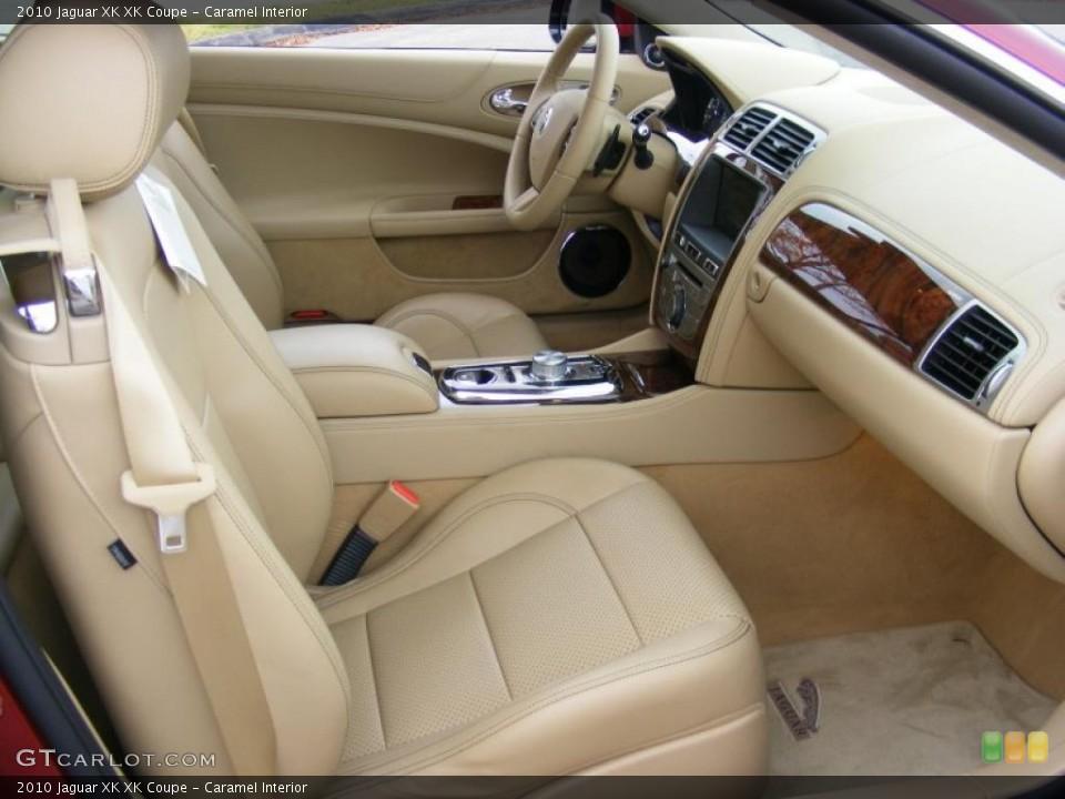 Caramel Interior Photo for the 2010 Jaguar XK XK Coupe #37915562