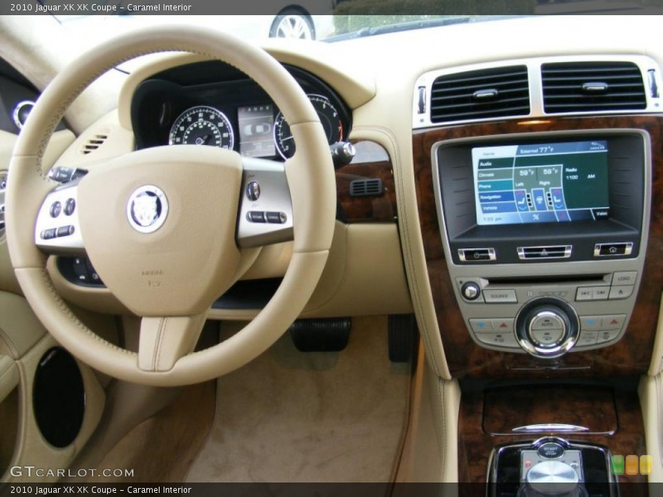 Caramel Interior Controls for the 2010 Jaguar XK XK Coupe #37915602