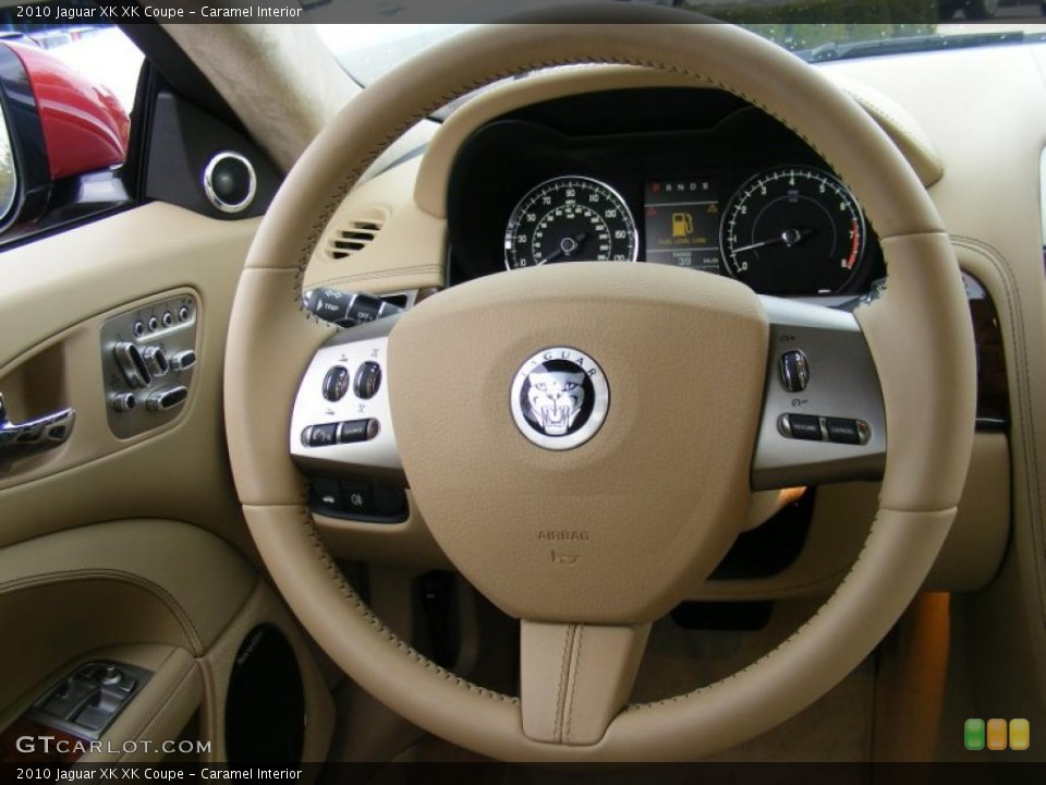 Caramel Interior Steering Wheel for the 2010 Jaguar XK XK Coupe #37915618