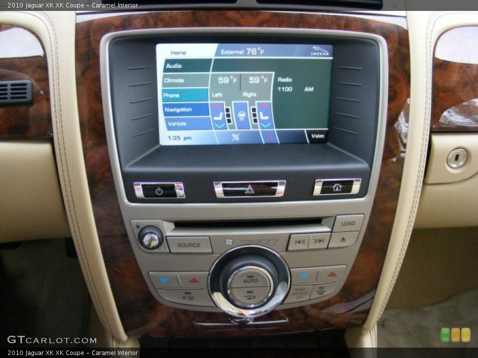 Caramel Interior Navigation for the 2010 Jaguar XK XK Coupe #37915666