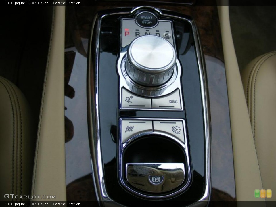 Caramel Interior Controls for the 2010 Jaguar XK XK Coupe #37915730