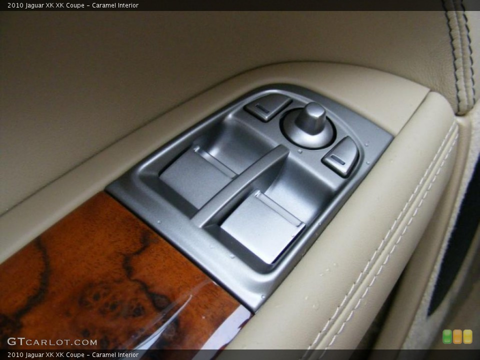 Caramel Interior Controls for the 2010 Jaguar XK XK Coupe #37915754