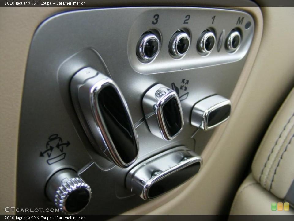 Caramel Interior Controls for the 2010 Jaguar XK XK Coupe #37915762