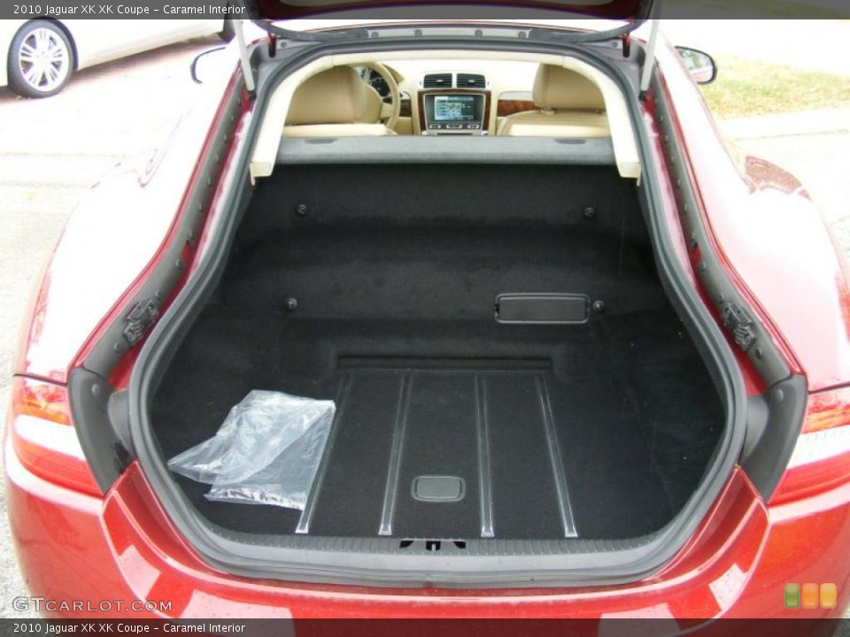 Caramel Interior Trunk for the 2010 Jaguar XK XK Coupe #37915802