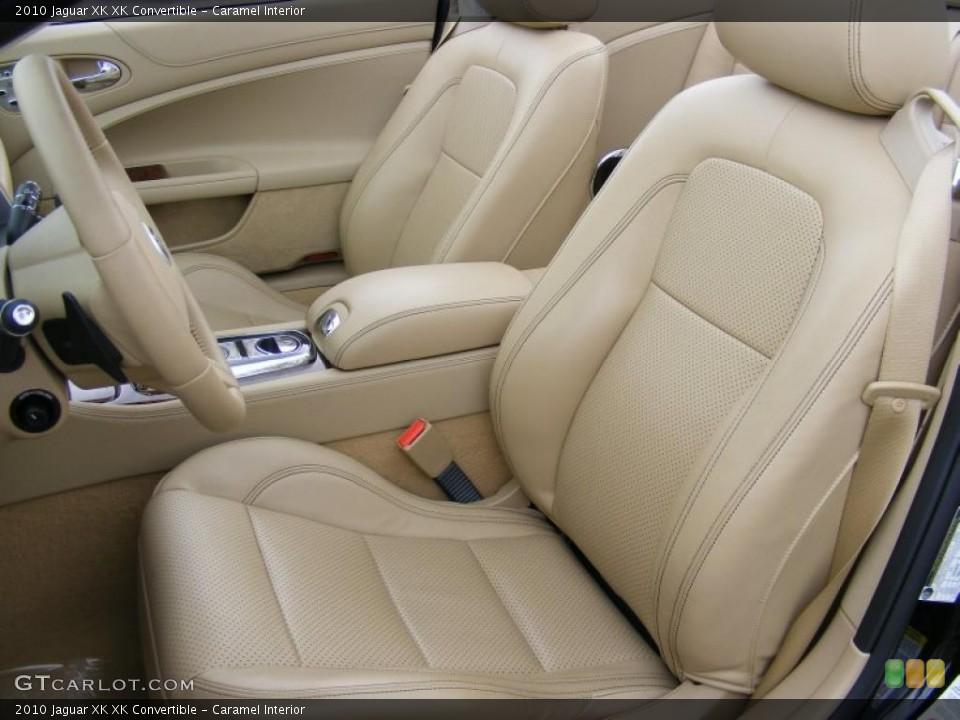 Caramel Interior Photo for the 2010 Jaguar XK XK Convertible #37916030
