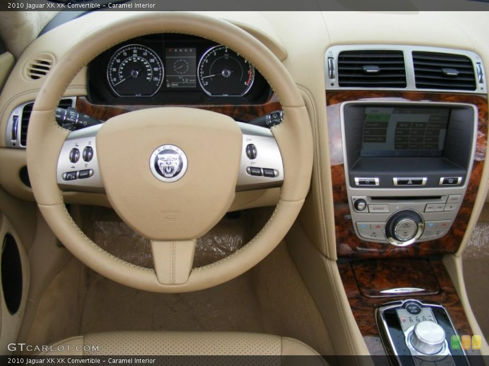 Caramel Interior Controls for the 2010 Jaguar XK XK Convertible #37916130