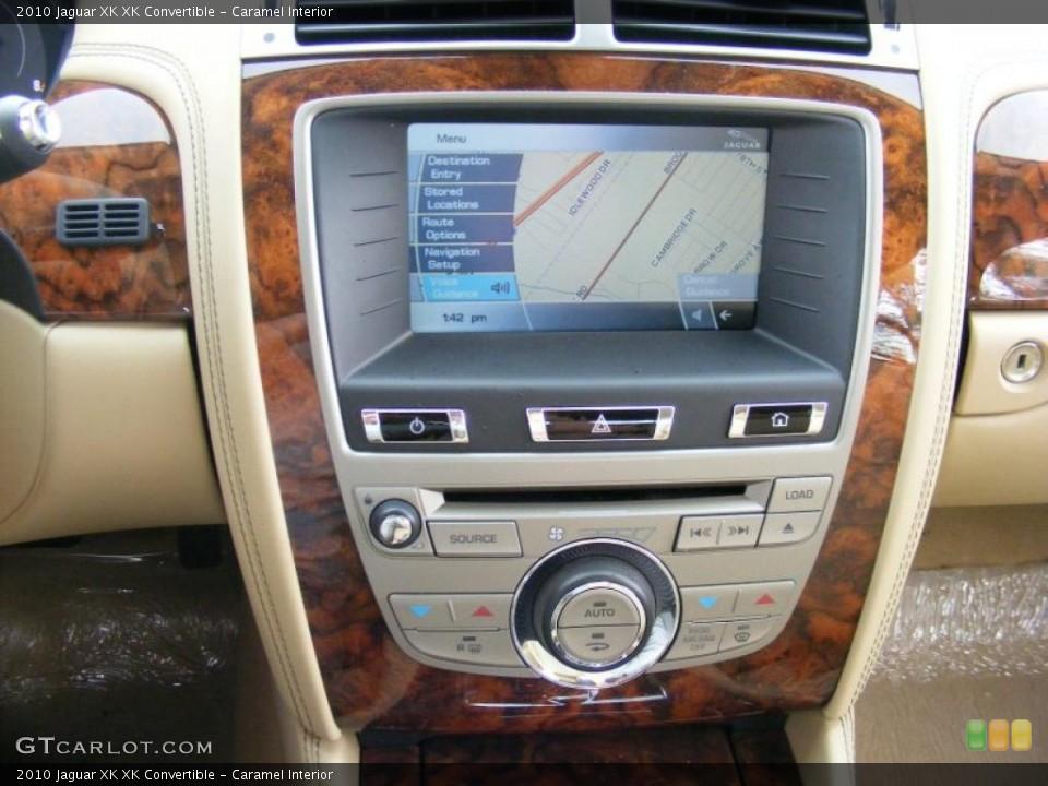 Caramel Interior Navigation for the 2010 Jaguar XK XK Convertible #37916190
